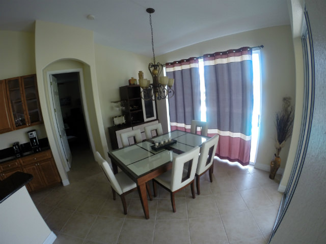 dining room at 210 NW 36th Ave