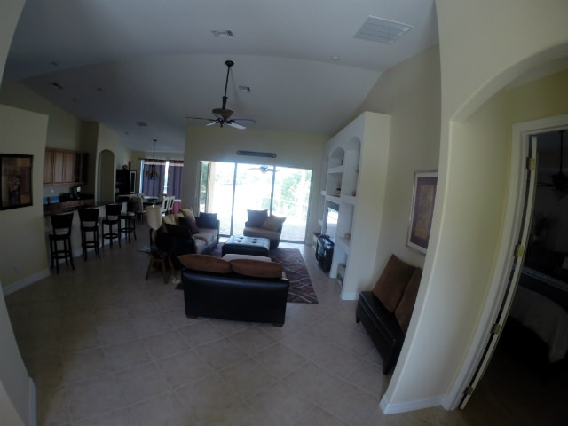 living room at 210 NW 36th Ave