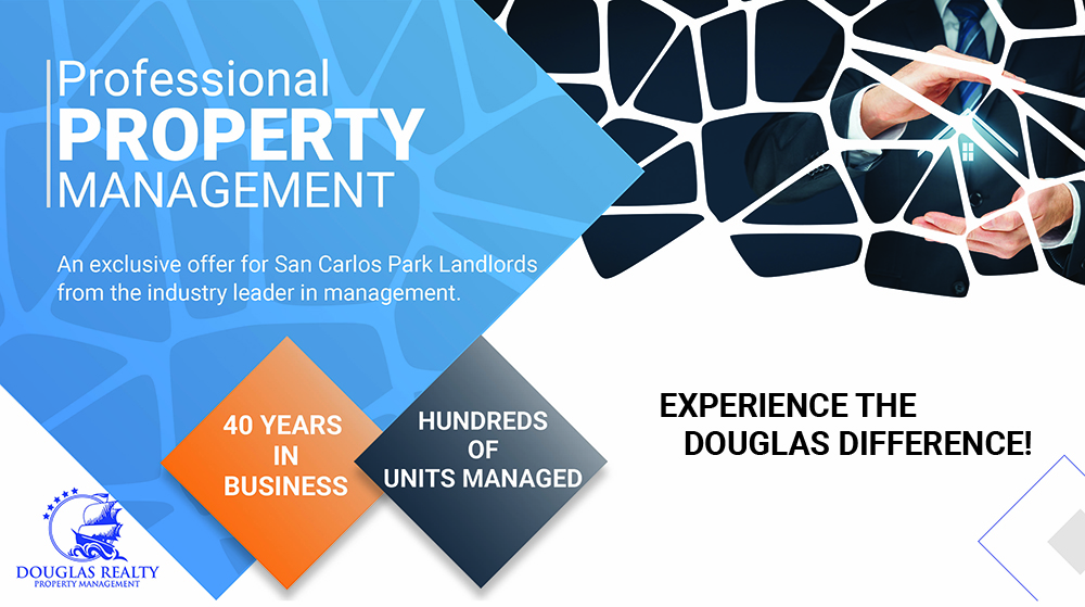Douglas Realty Post Card for San Carlos Property Management