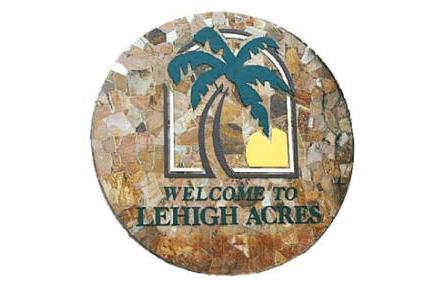 Lehigh Acres Florida sign