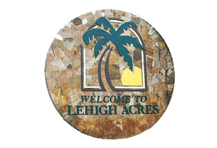 Lehigh Acres Florida sign